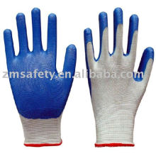 Nitrile coated nylon garden glove