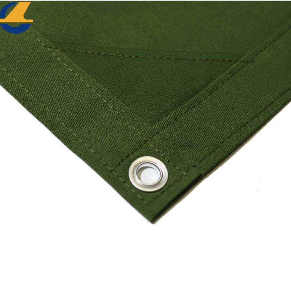 Coated Polyester Canvas Tarps With Eyelets