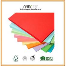 Impression Papier couleur Papier décalé avec pulpe de bois