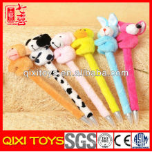 Top quality cute gift plush pen with all kinds of animal
