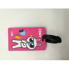 New Design Soft PVC Luggage Tag Personalized