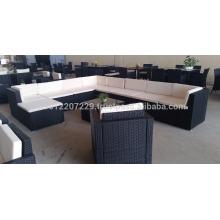 Muebles de jardín / al aire libre de mimbre - Big lounge set