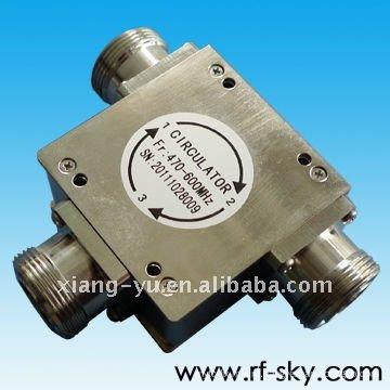 470-600 МГц высокой мощности коаксиальный Циркулятор