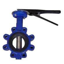 Ductile Rion Body/Ss Disc Lug Butterfly Valve