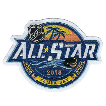 2018 All Star Game Tampa Bay geborduurde patch