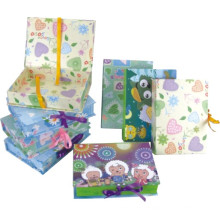 Бумажная коробка подарка, коробка подарка коробки коробки подарка коробки кукол, гексагональная коробка бумаги подарка упаковывая