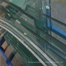 Verre feuilleté trempé dans l'immobilier du fabricant de verre