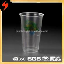De alta calidad de calidad 6 oz desechables de plástico taza de pp