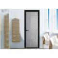 Nordic Minimalist Narrow Border Bathroom Doors