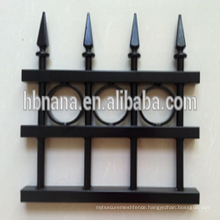aluminum outdoor composite retractable fence