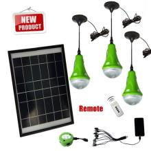 Système d'énergie solaire portable mini pour les petites maisons, système d'énergie solaire maison; systèmes d'énergie solaire