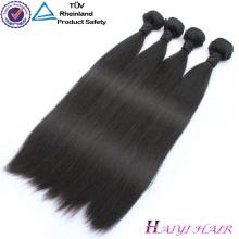 Qingdao haiyi Trade Assurance Hair Cambodian Natural Straight Remy Hair Weft