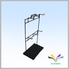 Almacene el fabricante negro de la fábrica contra el metal ganchos del soporte del casquillo de la tabla