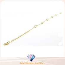 Wholesale Cheap Fashion Gold Plated Jewelry with Crystal Stainless Steel Bracrlet Bt6642