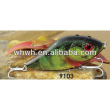 Cebo empuñadura de pesca señuelo plástico duro 100mm / 47g