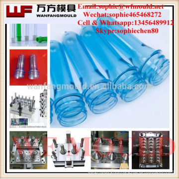 Fábrica de moldes de inyección de China fábrica de moldes de inyección de plástico de 30 mm moldes de moldes de preformas de inyección botella de mascotas molde de moldes de plástico