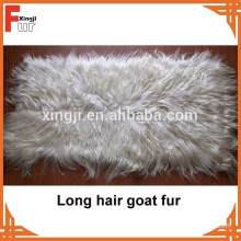 China Manufacturer Long hair Goat Skin Plate