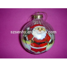 Ручной внутренней живописью, Рождество стеклянный шар