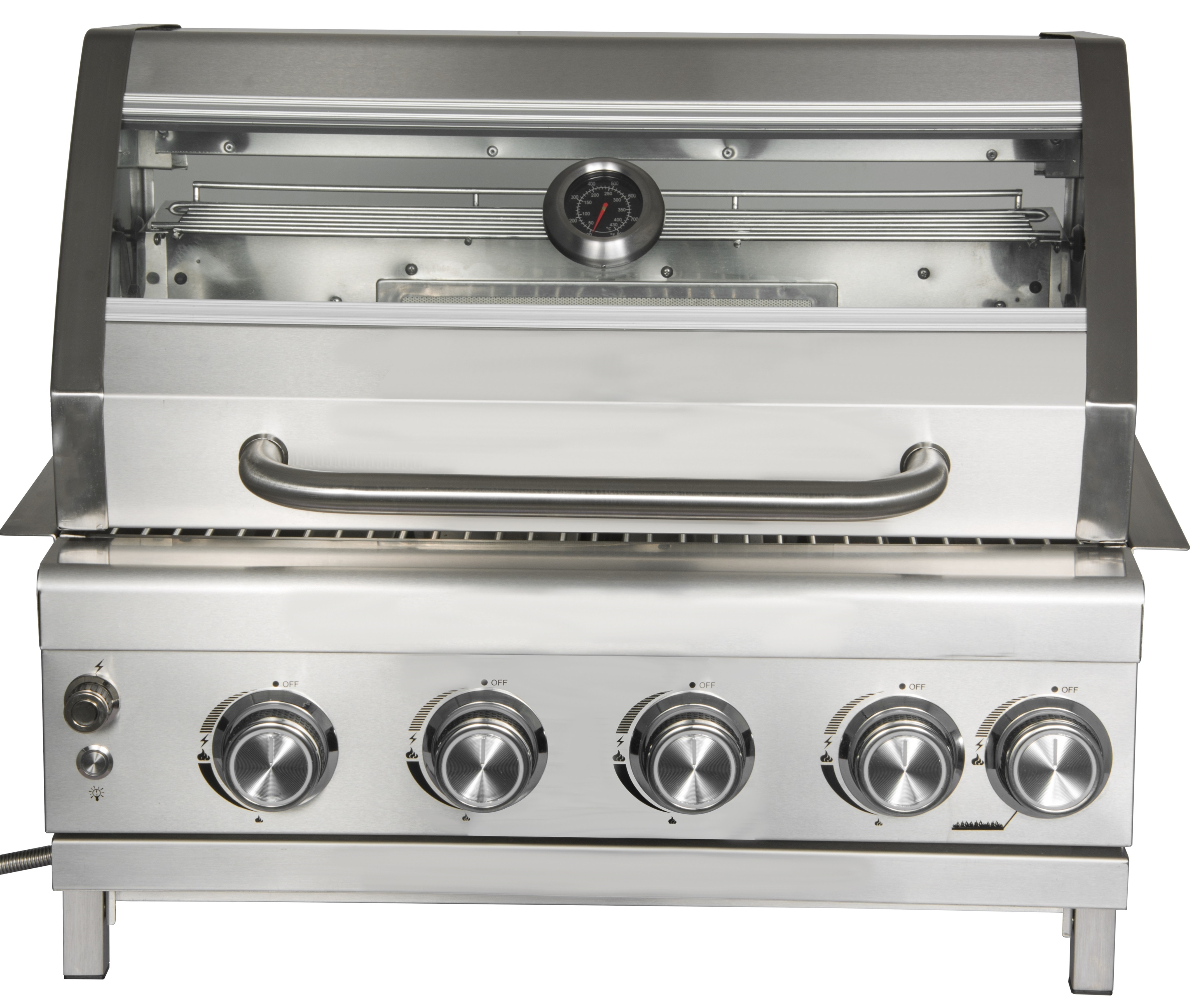 4 Burner Gas Barbecue Grill Head