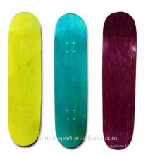 2016 cheap blank American hard maple skateboard decks for sale