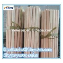 decoration broom 120*2.2cm pvc oated wooden broom stick