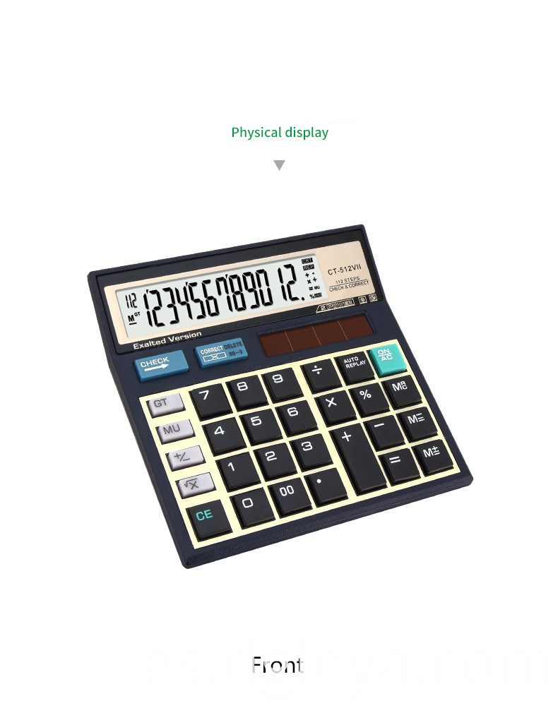 Check Electronic calculator