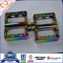 Colored Titanium Alloy Pedal