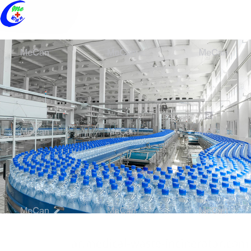 Filling Plastic Water Machine