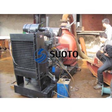 Trash Water Pump with Diesel Engine