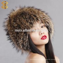 Fabrik Großhandelspreis Mode Russische Pelz Muster Winter Hut