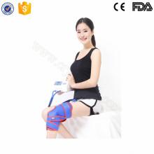 Terapia portátil del pun ¢ o del cryo que recicla el rayo infrarrojo lejano para el tratamiento de lesión de la rodilla