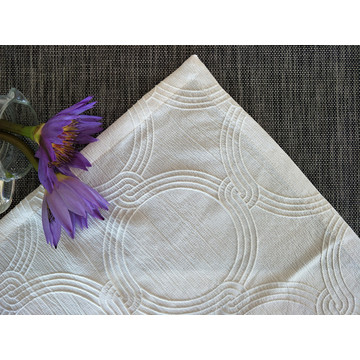 2018 Rekaan Baru 100% Poli Jacquard Table Cloth