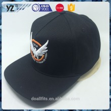 5 panel with customized logo snapback cap good quality made in china