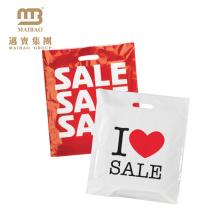 Les fabricants de Guangzhou en gros PE / LDPE 100% biodégradable acceptent l'impression faite sur commande d'achats en plastique sacs avec le propre logo