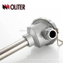 fabricantes de cables eléctricos cajas de conexiones electrodo sensor de temperatura del aceite del motor termopar resistente a la erosión