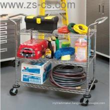 Industrial Rolling Cart/Utility Cart / Metal Trolley (TR481838A3)