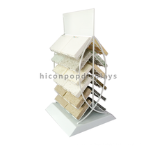 Factory Price Double Side Home Decoration Flooring Showroom Metal Rack Ceramic Tile Display Stands