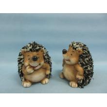Hedgehog forma de artesanía de cerámica (LOE2530-C9.5)