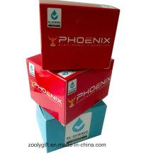 Caja de embalaje de regalo plegable de papel personalizado de impresión de cartón para productos electrónicos