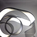 Two size Sliver reflective spandex tape / doube side reflective tape