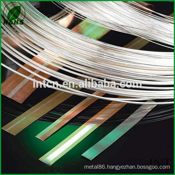 made in China test report available gauge 16 silver wire 99.99