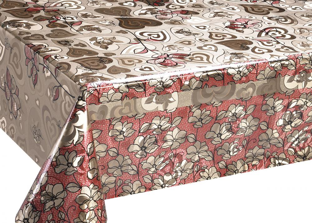 Double Face Silver Gold Tablecloth
