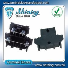 ТД-025 DIN-рейку двойной уровень 25 Ампер Аудио Разъем провода