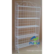 5 Layer Elegant Wire Shelf Display (PHY309)