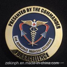 Desde la fabricación de China Cheap Metal Commander Coin