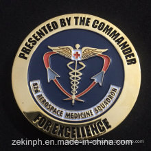 From China Manufacture Cheap Metal Commander Coin
