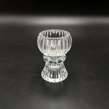 Wendekerzenkerzenhalter aus Glas
