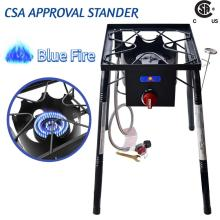 Cast Iron High Pressure Propane Camping Single Burner