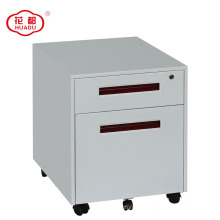 Huadu two drawers workstation under desk pedestal cabinets with wheels