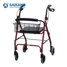 SKE220 легкий алюминиевый сплав опора-ходунки с сиденьем